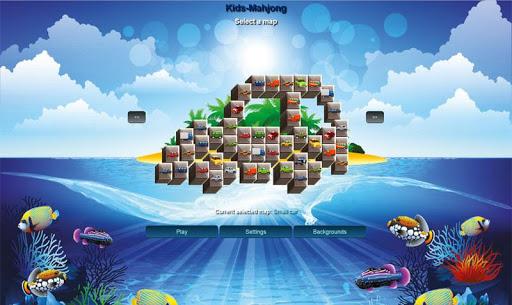 Free Kids-Mahjong