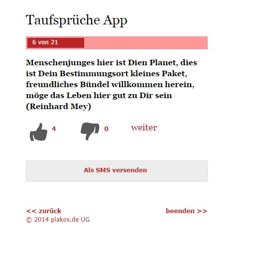 taufsprüche modern u. tradit. – android-apps auf google play