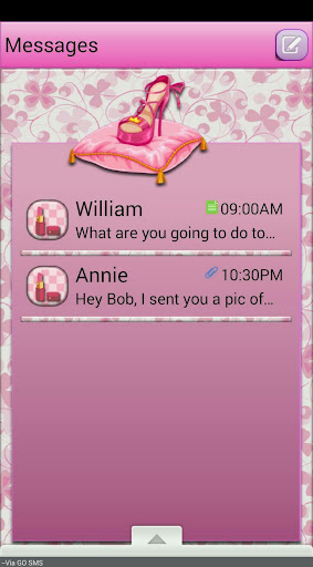 Fashionesta GO SMS THEME