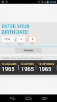 Screenshot of Life Calculator