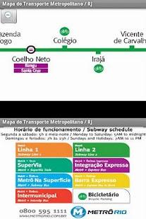 Metro Map Rio de Janeiro - BR- screenshot thumbnail