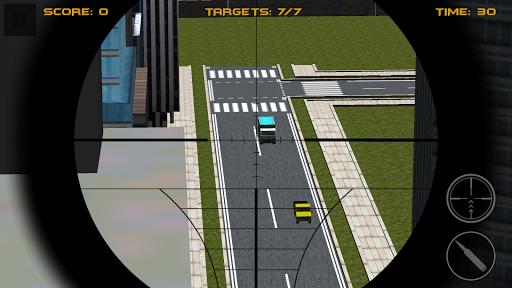 City Traffic Sniper Shooter