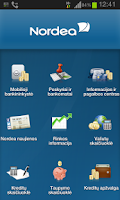 Screenshot of Nordea Lietuva