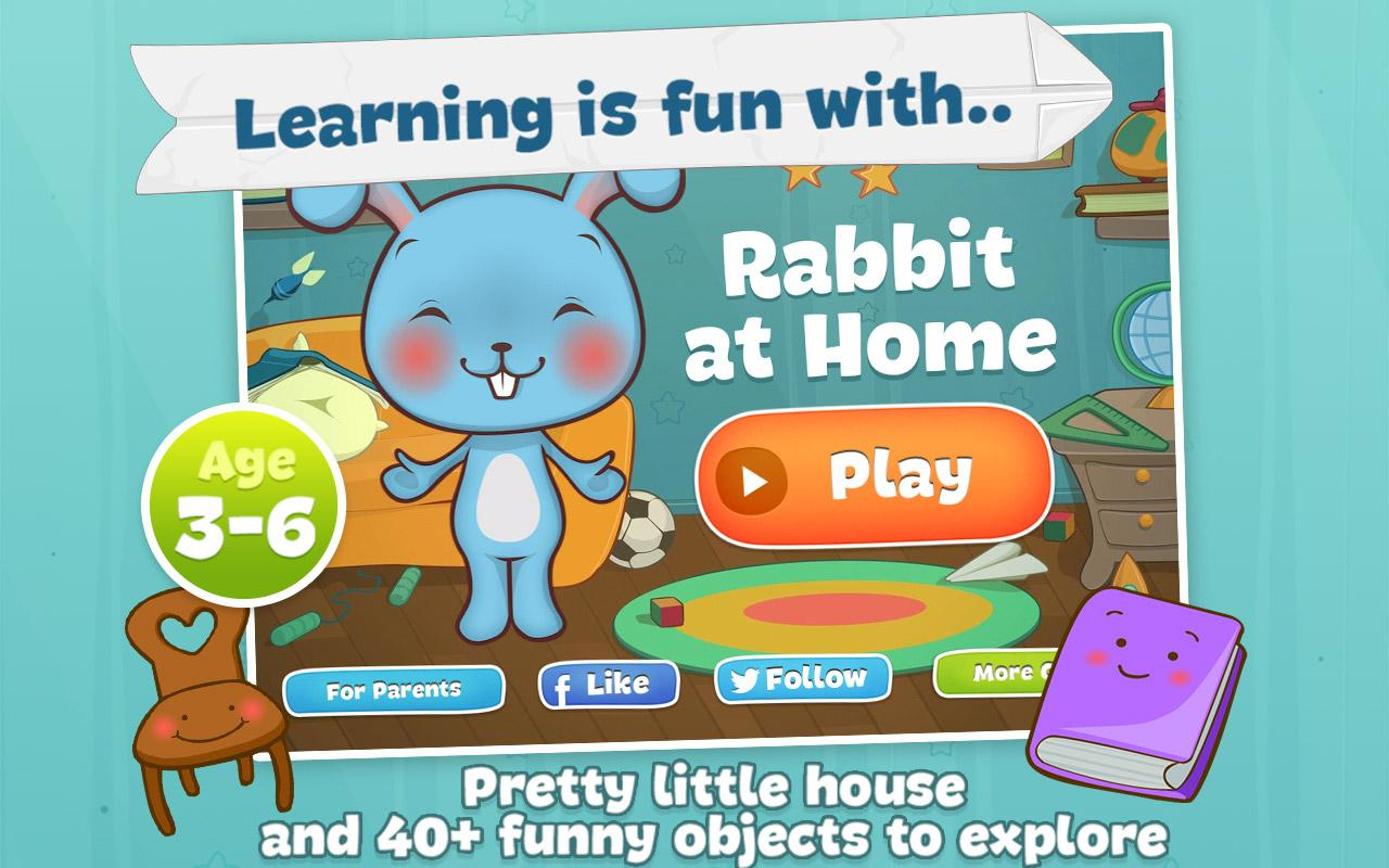 Rabbit at Home - screenshot