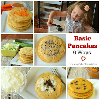 Basic Pancakes- 6 Ways