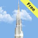 Burj Khalifa Live Wall Free icon