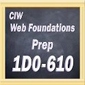 CIW Web Foundations 1D0-610 icon
