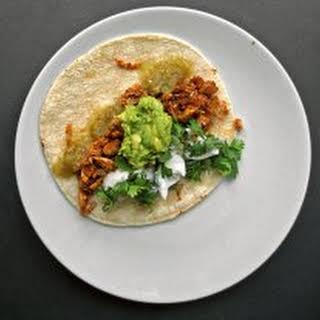 Basic Chicken Tacos.