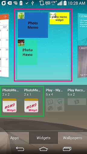 PhotoMemoWidget
