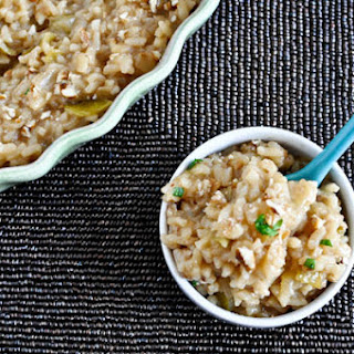 Apple Risotto with Toasted Pecans.