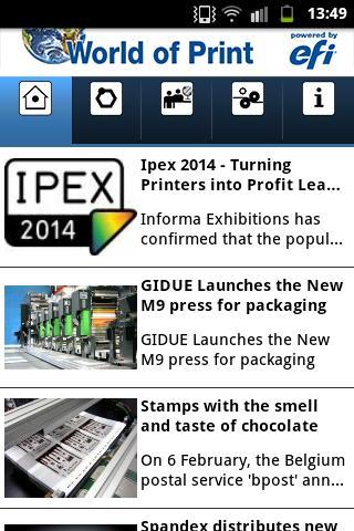 World of Print - EFI