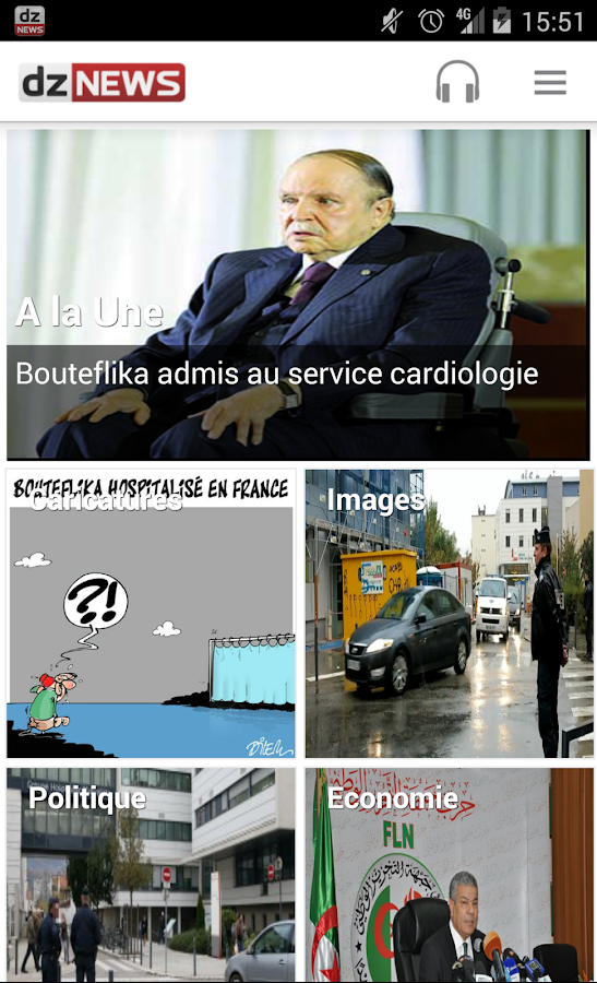 dz news algerie android apps on google play. Black Bedroom Furniture Sets. Home Design Ideas