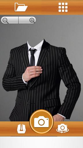 Man Suit Photo Maker