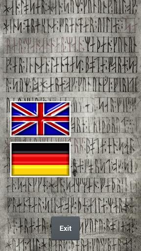 Runes Alphabet Teacher