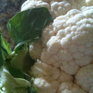 Cauliflower Fritters.
