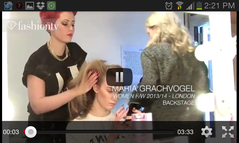 Fashion TV for Android - screenshot