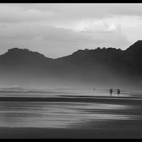 by Kaustab Roy - Black & White Landscapes