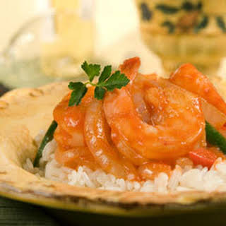 Shrimp With Spicy Tomato Sauce.