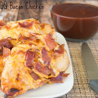 Cheesy BBQ Bacon Chicken.