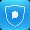 可信-私密短信与安全电话以及隐私保险箱 icon