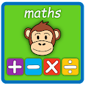 Primary School Maths for Kids. icon