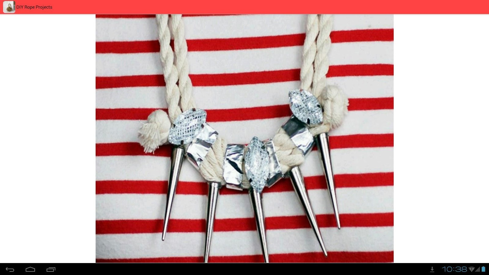 Diy rope projects android apps on google play for Rope projects