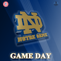 ND Fighting Irish Gameday logo