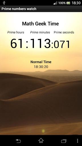 Prime Numbers Clock