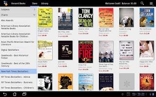 Screenshot of Versent Books
