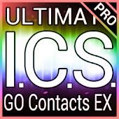 Rainbow ICS GO Contacts Theme