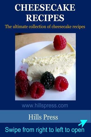 Cheesecake recipe book