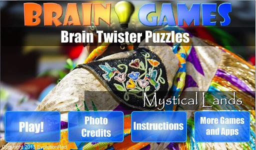 Mystical Lands: Brain Puzzles