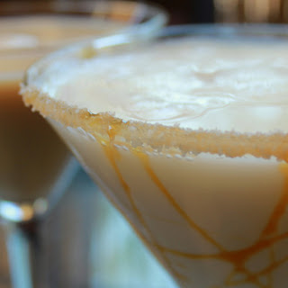 Salted Caramel Coffee Martini.