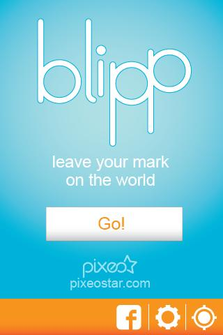Blipp - Map Your History - screenshot