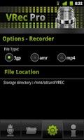 Screenshot of VRec PRO - Voice Recorder