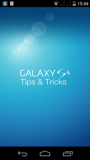 Galaxy S4 TipsTricks