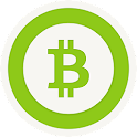 Bitcoin with Bitstamp icon