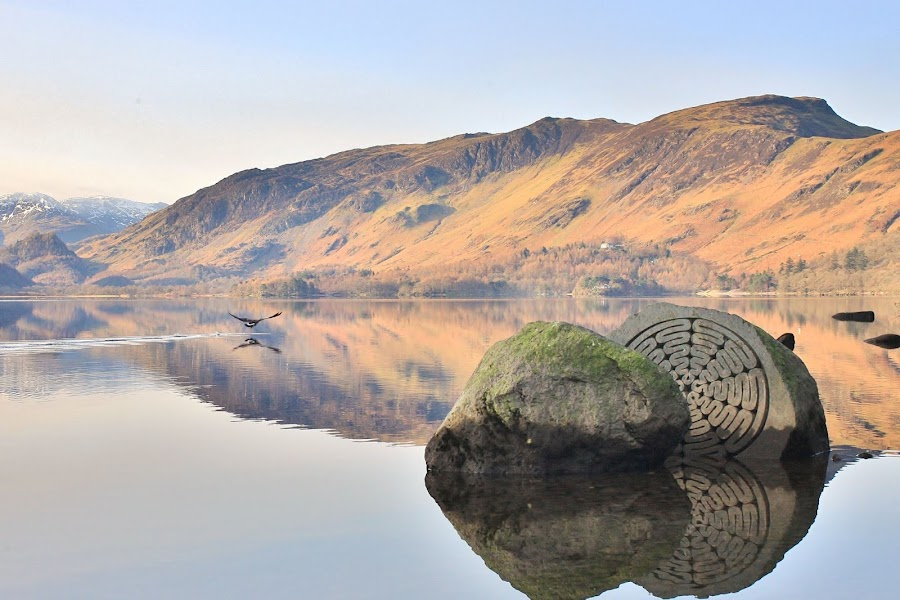 Derwent water by Jeff Page - Landscapes Mountains & Hills