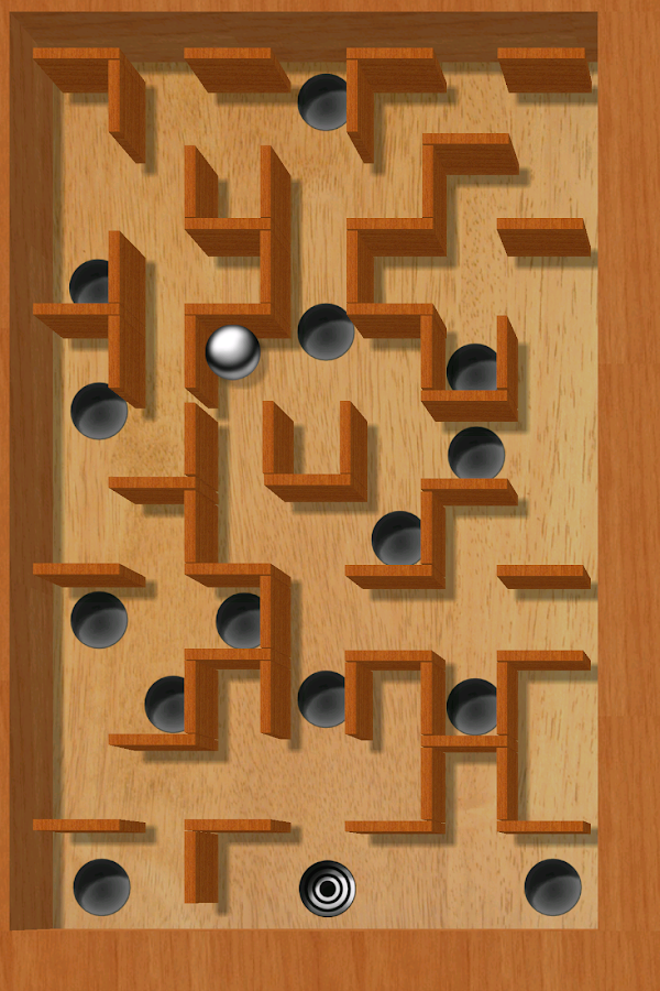 aTilt 3D Labyrinth - screenshot