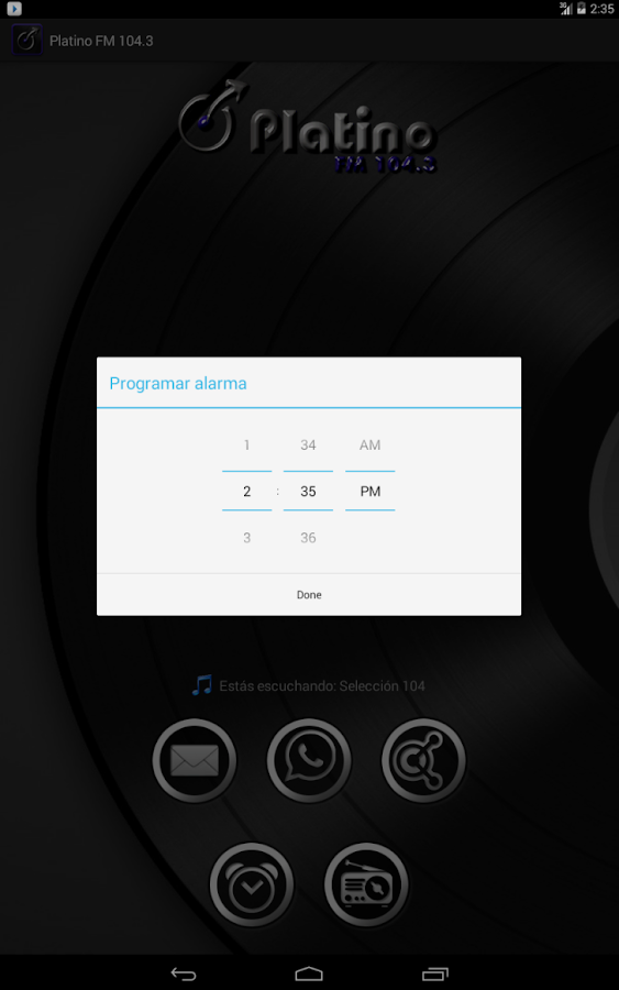 Platino FM 104.3 (Beta)- screenshot