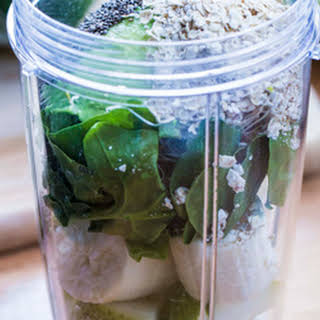 Get-up-and-go Green Smoothie.