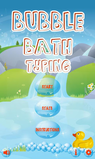 Bubble Bath Typing