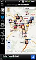 Screenshot of Gasolina App Precios en España