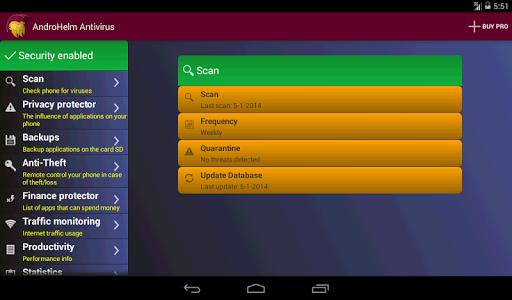 AntiVirus Android. v2.3