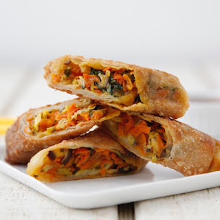 Vegetarian Rice Paper Rolls Recipes.