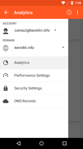 Mobile Manager for CloudFlare