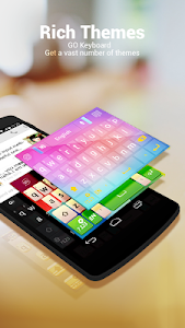 GO Keyboard + Emoji & Emoticon v2.06