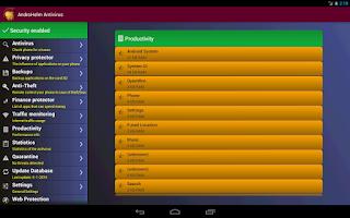 Screenshot of AntiVirus-Android