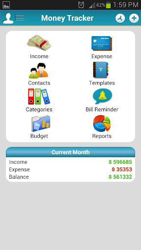 Money Tracker - Expense Budget