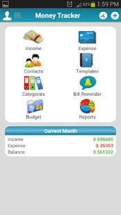 Money Tracker - Expense Budget- screenshot thumbnail